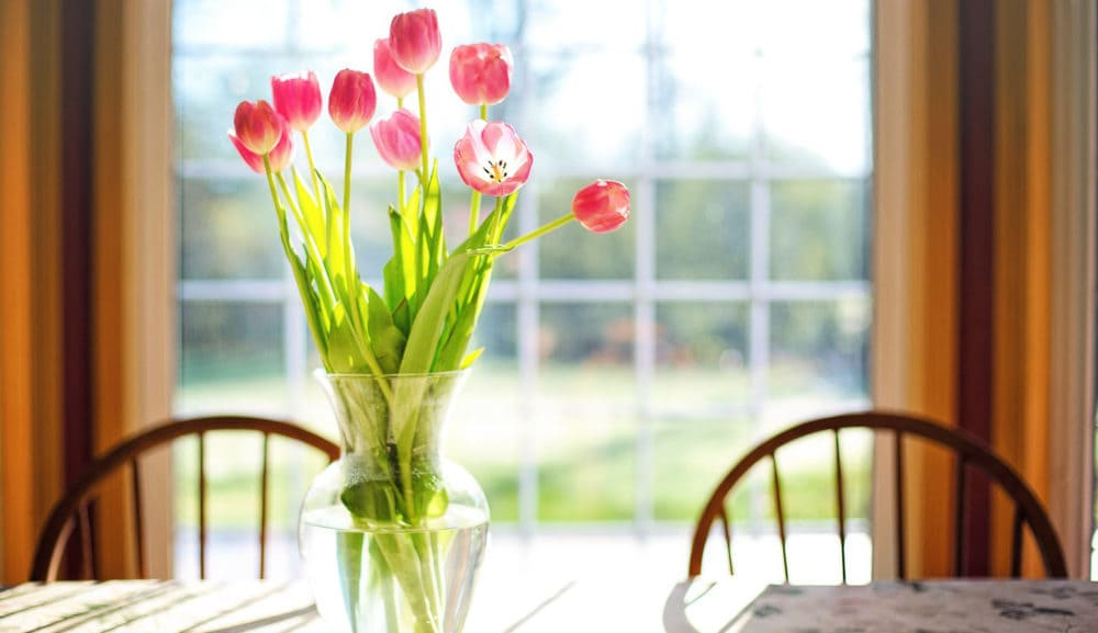 making your clean home a little prettier