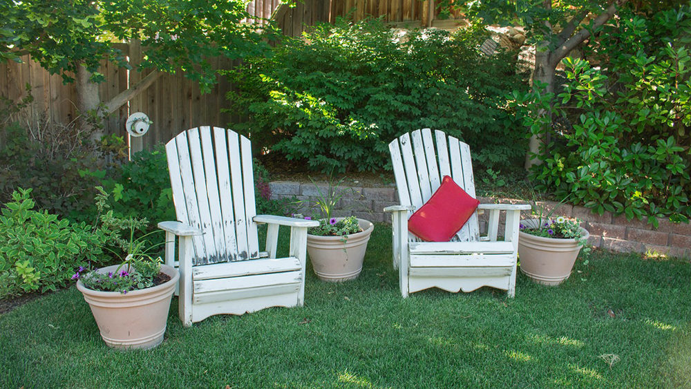 wooden lawn chairs, Kelly's Kleaning provides summertime cleaning services to individuals around the Berks County and Lancaster County area.