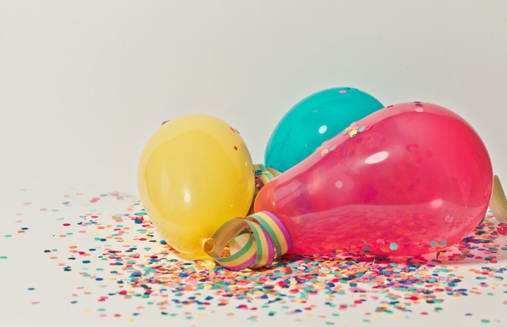 party balloons and confetti, Kelly's Kleaning provides residential cleaning services such as party cleanup to individuals around the Berks County and Lancaster County area.